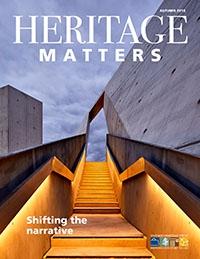 Heritage Matters, Autumn 2018