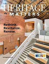 Heritage Matters: Rethink. Revitalize. Renew.